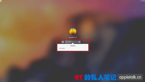 苹果系统用户登录选项设置