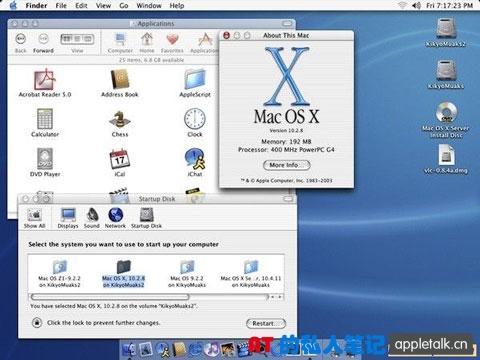 """Mac OS""""进化论"""""""